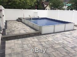 NEW Above, Semi, Inground 14x22 Rectangle Swimming Pool 3 Insulated