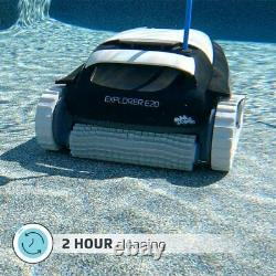 NEW DOLPHIN Explorer E20 Robotic Pool Cleaner- Ideal for In-Ground Swimming