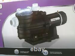 NIB UtiliTech Powerful High-Efficiency 1.5-HP 115V or 230V Swimming POOL PUMP