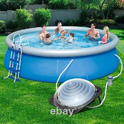 New Outdoor Solar Heater Dome Inground & Above Ground Swimming Pool Water Heater