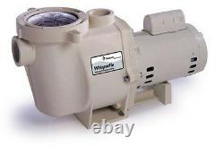 Pentair 011518 1.5 HP WhisperFlo WFE-26 Efficient In Ground Swimming Pool Pump