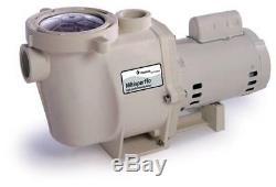 Pentair 011774 Whisperflo WF-28 2 HP Efficient In Ground Swimming Pool Pump