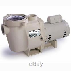 Pentair WhisperFlo 2 HP Up-Rated WF-28 Inground Swimming Pool Pump 011774