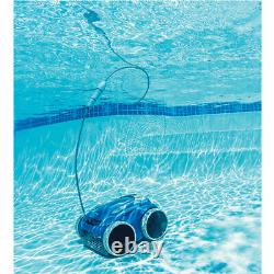 Polaris F9650IQ Sport 4WD Wi-Fi Robotic Inground Swimming Pool Cleaner with Caddy