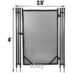 Pool Fences GateFor In-ground Swimming Pool Safety Fence4x2.5Ft Pool Fence Gate