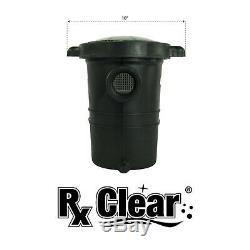 Rx Clear Mighty Niagara 1.5 HP In-Ground Single Speed Swimming Pool Pump