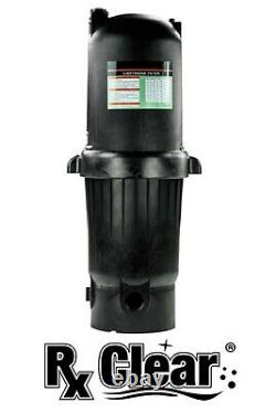 Rx Clear Radiant PRC150 150 Sq. Ft. In-Ground Cartridge Swimming Pool Filter