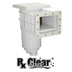 Rx Clear Swimming Pool Standard Thru-Wall Skimmer for Vinyl Liner Inground Pools