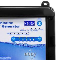 Salt Water for 18,000 Gallon Chlorinator Swimming Pool Chlorine Generator System