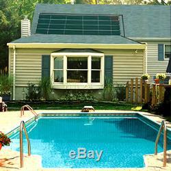 Smartpool Sunheater 4' x 20' Solar Panel Heating System In-Ground Swimming Pools
