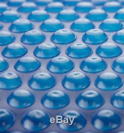 Sun2Solar 20 x 40 Rectangle Blue Swimming Pool Solar Blanket Cover 1200 Series