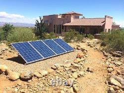 SunRay Solar Inground 120v Pond 1.5HP Swimming Pool Pump DC Brushless Motor