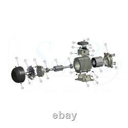 SunRay Solar Swimming Pool Pump DC 2HP Brushless V 180v USA Pond Inground Motor