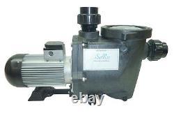 SunRay USA Pond 3.5HP Inground 240v Solar Swimming Pool Pump DC Brushless Motor