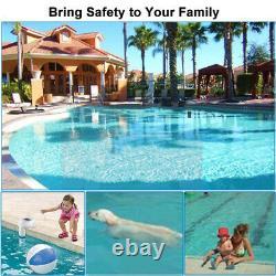 Swimming Inground Pool Safety Alarm System Children Pets Drowning Alert Detector