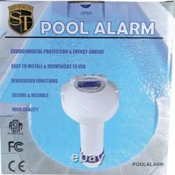 Swimming Pool Alarm Inground Children Pet Safety Drowning Warning ALERT System