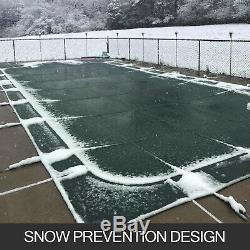 Swimming Pool Cover 20X40 FT Rectangular In Ground Non-toxic Evaporation Winter