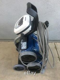USED Polaris 9550 Sport 4WD Robotic Inground Swimming Pool Cleaner and Caddy