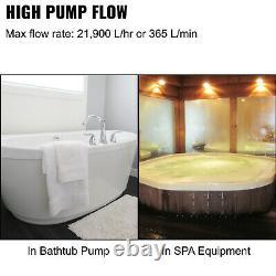 VEVOR 1HP Swimming Pool Pump Self-Priming Spa Above In Ground 750w Motor