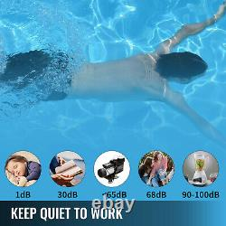 VEVOR 2.5hp Swimming Pool Pump Self-Priming Spa 1850w Motor Above In Ground