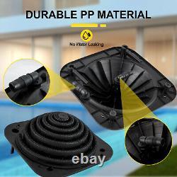 VEVOR Solar Dome Heater Inground/Above Ground Swimming Pool Water Heater Black