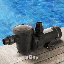 VIVOHOME 1.0 HP-2.0 HP Swimming Pool Water Pump In/Above Ground Motor Strainer