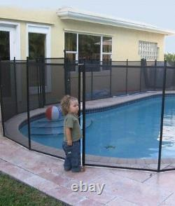 Water Warden Meshylene Safety Fence for Inground Swimming Pools (Various Sizes)